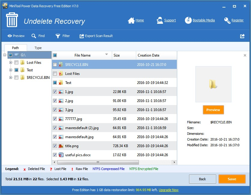 How Do You Recover Permanently Deleted Files In Windows 10/8/7